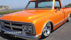AccuAir Air Suspension On Scott Lawrence's 69 GMC C-10 Truck - YouTube