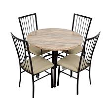 80% OFF - Wayfair Wayfair Stone Dining Table Set / Tables Fniture Cheap Parsons Chairs For Match Your Ding Table Astonishing High Seat Room Covers Clearance William Upholstered Chair Kewaunee Provincial Slipcovers Faux Homepop In Blue Reviews Wayfair Armless Side Buy Ding Room Chair Covers From Green Warm Louis Xvi Style French Antique Macys Eamoxyz Evans Kitchen Design Everly Quinn Hunstant Bar Cart Randall Meg Pedestal Table