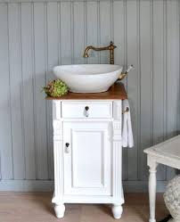 gäste waschtisch waschbecken mit unterschrank landhausstil