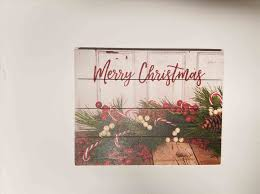 Little Diary Holiday Pallet Art Of A Crafty Lady Have Yourself Merry Christmas Trees U