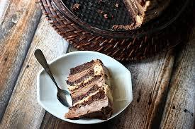 10 Layer Chocolate Caramel Mousse Cake