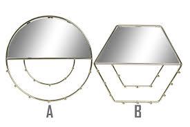 spiegel juwelier wand gold metall spiegel juweliere