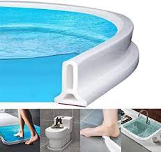 zusammenklappbarer duschschwellen wasserdamm dusche bad boden dichtung wasserdamm duschschwelle barriere wasserstopper flexibler