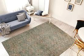 one couture teppich rauten muster modern wohnzimmer vintage