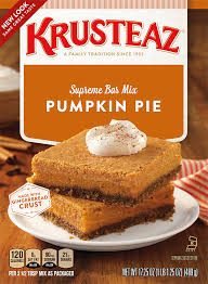 Hawaiian Electric Pumpkin Crunch Recipe by Pumpkin Pie Bar Mixes Krusteaz