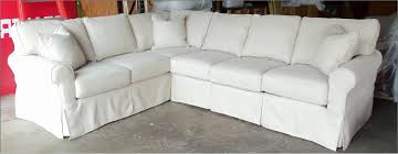 Making Slipcovers For Sectional Sofas by Brown Sectional Tags Amazing White Slip Covered Sofa Amazing