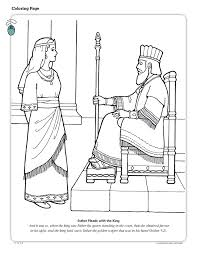 Esther Pleads With The King