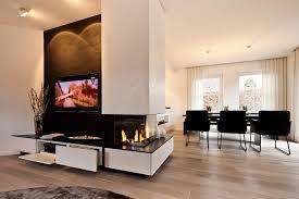 tv kamin kombination im wohnzimmer tischlerei schöpker