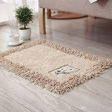 großhandel sticken sie bad matten badezimmer teppich 7 farben antibeleg matten für badezimmer und toilette maschinenwäsche bad teppich matten