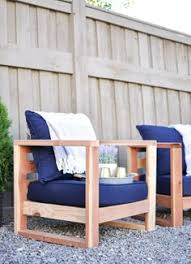 I built a very long outdoor sofa out of wood First furniture I ve