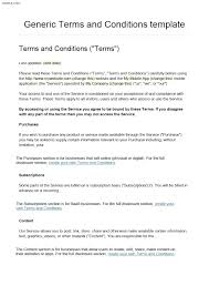 Simple Terms And Conditions Template Event Proposal Sample How To Website Standard Invoice Of Use Sale