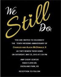 Invitations By Me Wedding Renewal
