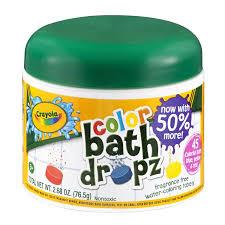 Crayola Bathtub Fingerpaint Soap By Play Visions by Crayola Bath Dropz Color 2 68 Oz Walmart Com