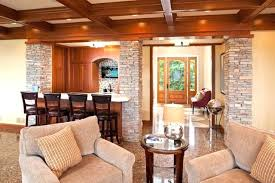 Living Room Columns Interior Design Ideas Bay Lake Addition Traditional Decorating Games On