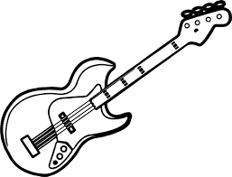 Guitar Jimmy Hendrix Stratocaster Coloring Pages And Page