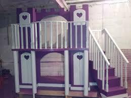 girls loft bed beds for girls marvelous deluxe loft castle beds