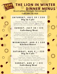 Barn Theatre School For Advanced Theatre Training Dinner Menus For ... The Theater Barn Theatre Announces 2016 Season West Michigan Tourist Association Hillbarn San Jose Tickets Schedule Seating Charts School For Advanced Traing 2017 Rent Cast Summer Stock New Ldon Playhouse Hampshire Barntheatre Dbarntheatre Summer Stage Red Info Charles Newsies