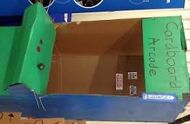 After Watching Caines Arcade We Will Design And Build Games Out Of Our Imaginations Cardboard