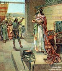 1 Kings 12 Bible Pictures Jeroboam Confronts Rehoboam