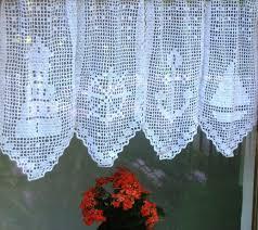 maritime häkelgardine gardinen häkeln häkeln vorlagen