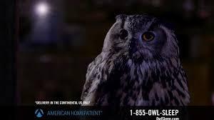 American HomePatient TV mercial Owl Sleep iSpot