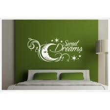 wandtattoo schlafzimmer sleep sweet dreams gute nacht schöne träume aufkleber wand der dekor aufkleber shop