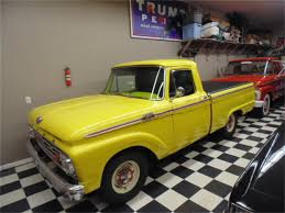 1964 Ford F100 For Sale | ClassicCars.com | CC-1042774 1964 Ford F100 For Sale Classiccarscom Cc1042774 Fordtruck 12 64ft1276d Desert Valley Auto Parts Looking A Vintage Bring This One Home Restored Interior Of A Ford Step Side F 100 Ideas Truck Hot Rod Network Pickup Ozdereinfo Demo Shop Manual 100350 Series Supertionals All Fords Show Old Trucks In Pa Better Antique 350 Dump 1962 Short Bed Unibody Youtube Original Ford City Size Diesel Delivery Truck Brochure 8