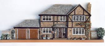 Mock Tudor House Photo by Architectural Reliefs House Portraits Daughters Of Earth