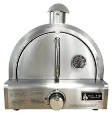 Blackstone Patio Oven Assembly by Amazon Com Mont Alpi Mapz Ss Table Top Gas Pizza Oven Large