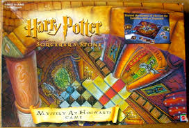 Harry Potter And The Sorcerers Stone Mystery At Hogwarts Game 2000 Mattel Clue Knockoff 1