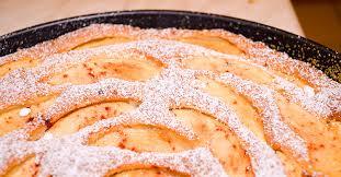 apfel eierlikör kuchen mit marzipan