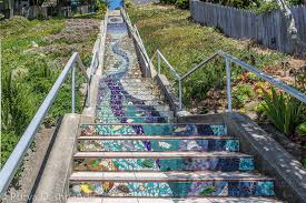16th Avenue Tiled Steps Project by Moraga Steps San Francisco The 16th Avenue Tiled Steps Pr U2026 Flickr