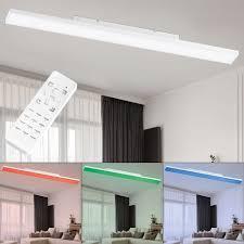 etc shop led deckenstrahler smart rgb led decken leuchte tageslicht le fernbedienung dimmbar steuerbar per app handy kaufen otto