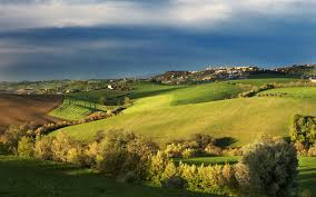Tuscany Spring Landscape Wallpapers And Stock Photos