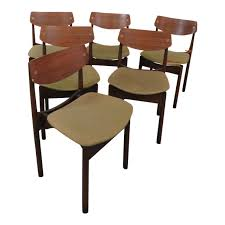 Danish Modern Style Dining Chairs - Set Of 6 Mid Century Danish Modern Teak Upholstered Ding Chairs Set Of 6 By Niels Otto Moller For Jl Mller 1950s How To Re Upholster The Backs Midcentury 1960s 8 Kfoed 4 Vintage Midcentury Style Curved Back Walnut Oak Style Ding Chairs 1970s 88233 Fuchsia Chair Dania Fniture Weber Black Shell Seat Details About 2 Wegner Elbow Midcent Finish Solid Wood Frme Picked Amazoncom Glj Fashion Nordic Designer G Plan Solid Teak New Upholstery Mid Century Modern K Larsen Influenced