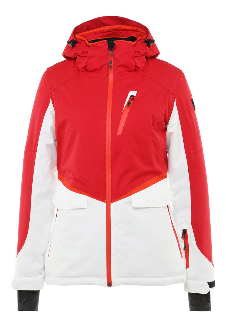 Killtec Dorya Function Jacket with Zipoff Hood Womens Red