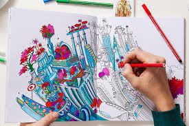 Moleskines New Cityscape Colouring Book For Adults