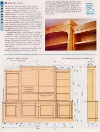 classic breakfront bookcase plans u2022 woodarchivist