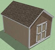12x16 Wood Storage Shed Plans by 12x16 Shed Plans How To Build Guide Step By Step Garden