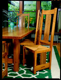 free plan arts and crafts inspired chair finewoodworking