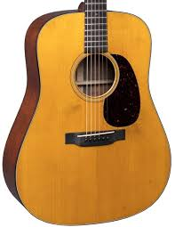 New Martin D 18 Authentic 1939 VTS Aged Acoustic Guitar With Case