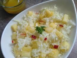 cuisiner le chou blanc en salade recettes de chou blanc et ananas