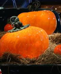 Glass Blown Pumpkins Seattle by Still Life With Two Plums Flora Mace And Joey Kirkpatrick United