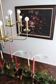 Chandelier Modern Dining Room by Our Modern Brass Chandelier For The Dining Room