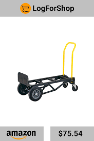 100 Harper Hand Truck S 700 Lb Capacity Glass Filled Nylon Convertible