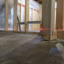 Preparing Concrete Subfloor For Tile by What Are The Requirements To Prepare A Non Level Concrete Floor