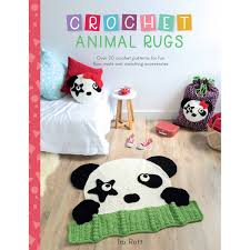 Crochet Animal Rugs Pattern Book Hobbycraft