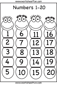 Coloring Pages Numbers 1 With Number 20 Page New