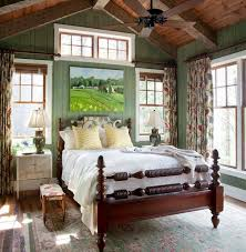 Rustic Style Master Bedroom