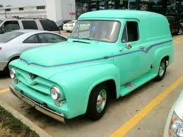 100 1955 Ford Panel Truck Lot Shot Van Spotted In The Summit Racing Tallmadge